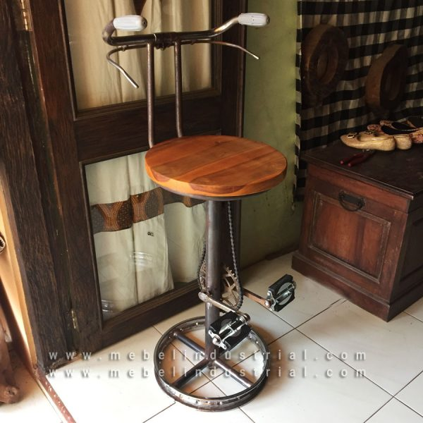 Jual-Kursi-Barstool-Industrial-Bicycle-Vintage