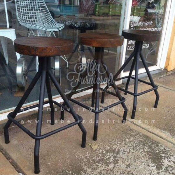 Jual Kursi Stool Industrial Untuk Cafe